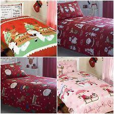 Double Christmas Duvet Children U0027s Christmas Bedding Sets And Duvet Covers Ebay
