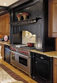 modern small stacked stone backsplash behind stove design popular