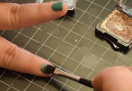 how to paint mermaid nails with eyeshadow totally the bomb com