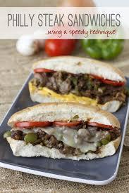 Kitchen Crank Recipe Philly Steak Sandwiches Using A Speedy Kitchen Technique Make