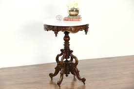 antique marble coffee table sold victorian hand carved walnut 1860s antique marble top coffee