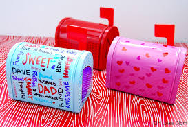sharpie decorated valentine u0027s day mailboxes loves glam