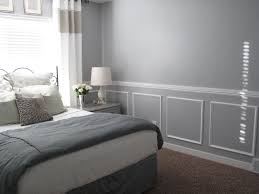 wall trim and chair rail easy room remodel