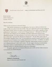 after llamas and thedress u2013 this harvard rejection letter is the