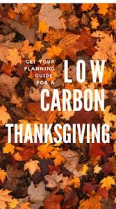 low carbon thanksgiving guide