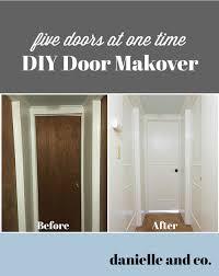 Interior Door Makeover Diy Interior Door Makeover Five Doors At Once Danielle Co
