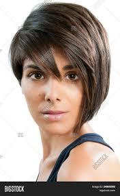 medium hairstyles for hispanic women beautiful young woman straight image photo bigstock