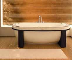 vasche da bagno legno bagno con vasca freestanding moderna rifare casa