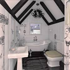 unique small bathroom ideas bathroom cool bathroom with beams home interior design