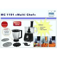 cuisine multifonctions mc1191 de cuisine multifonction multi chef blender