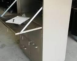 Desk And Filing Cabinet Set Vintage Industrial Steelcase Index Card Filing Cabinet Set 49