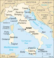 map of italy images of italy