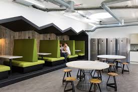 merkle periscopix offices u2013 london booth seating pantry and