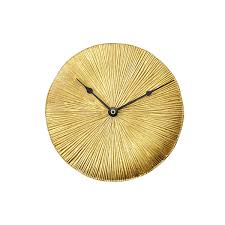 Home Decor Wall Clocks Gold Leaf Wall Clock Rustic Home Decor Decorative Clocks