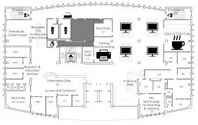 technical drawing floor plan floor plans spaces tech library wpi