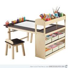 art table with storage 15 kids art tables and desks for little picassos home design lover