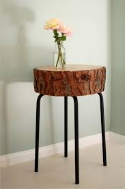 Wood Slab End Table by Ikea Hacks 50 Nightstands And End Tables