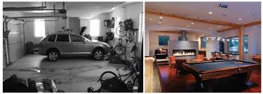 Converting Garage To Bedroom Before And After Garage Remodel To Living Spaces Ideas