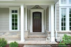 Solid Wooden Exterior Doors Solid Wood Front Doors Front Doors Unfinished Wood Front Doors