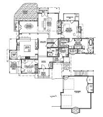 Craftsman Style Homes Floor Plans Craftsman Style House Plan 5 Beds 6 00 Baths 3700 Sq Ft Plan 899 3
