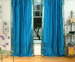 Turquoise Sheer Curtains Blue Sheer Curtains In Soothing Peacock Sheer Curtains Turquoise