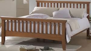 Solid Bed Frame King Bed Frames King Size Wooden Joseph Beds Osido Warm Oak Wooden Bed