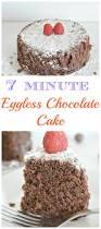 7 minute eggless chocolate cake recipe chocolate cake