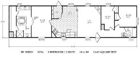 Mobile Home Floor Plans Single Wide Single Wide Modular Home Floor Plans Home Plan