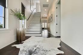 gray cowhide rug design ideas