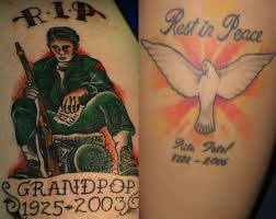 r i p rip rest in peace tattoos ideas u0026 touching examples
