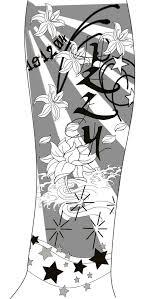 half sleeve tattoo design by optimus11 on deviantart