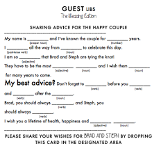 wedding mad libs template i like that it tells you to drop them i wan to take them to