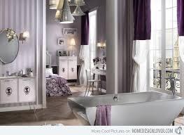 black and silver bathroom ideas 15 majestically pleasing purple and lavender bathroom designs
