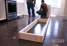 how to install a kitchen island excellent install kitchen island mydts520 com