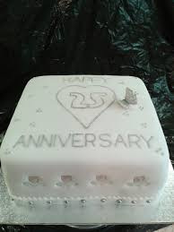 25th wedding anniversary cake idea to copy wedding cake cake