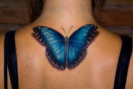 with 3d butterfly tattoos shadow tattoos