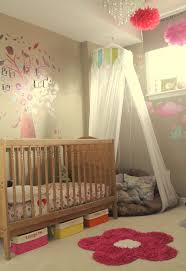 toddler girls room i like the corner cushion with netting im