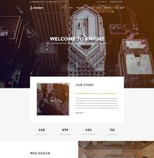 template photoshop para sites de industrial
