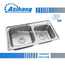 Wholesale Stainless Steel Sinks by Foshan Manufacturer 304 Stainless Steel Kitchen Sink With Drain