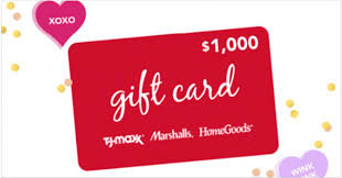 instant win gift cards tjx rewards access something sweet instant win