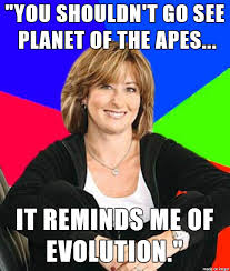 Planet Of The Apes Meme - my aunt saw the trailer for dawn of the planet of the apes and said