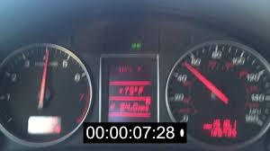 2002 audi a4 0 60 mph manual youtube