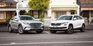 skoda kodiaq v mazda cx 9 comparison gearopen