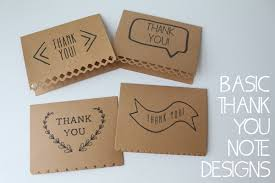 basic thank you cards invitations templates designer
