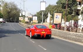 f12 berlinetta price in india india s f12 berlinetta spotted in hyderabad