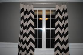 Navy Window Curtains Navy And White Chevron Window Curtains Curtain Rods And Window