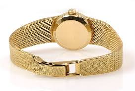 gold omega bracelet images Omega vintage ladies 18k yellow gold 7169 watch jpg