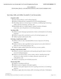 Resume Format Skills Resume Qualification Sample Resume Qualifications Samples Skill