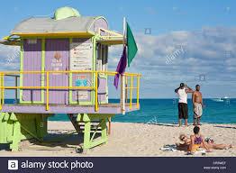 united states florida miami beach south beach lifesaver cabin