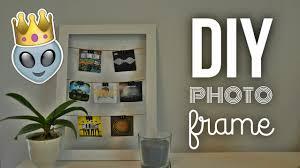 diy picture frame tumblr inspired youtube diy picture frame tumblr inspired